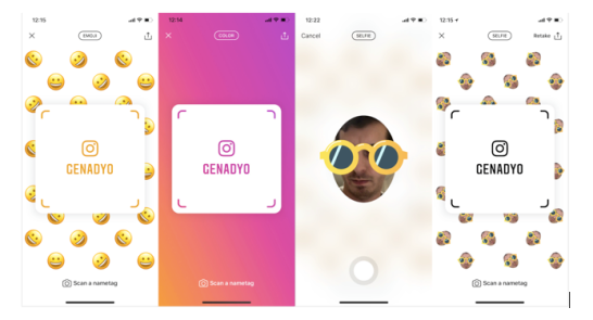 Instagram tests 'Nametag'… another Snapchat-like feature